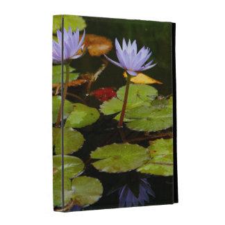 Water lilies iPad folio covers