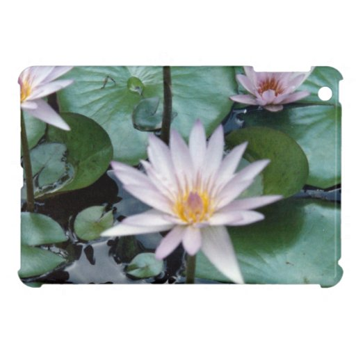 Water Lilies iPad Mini Covers