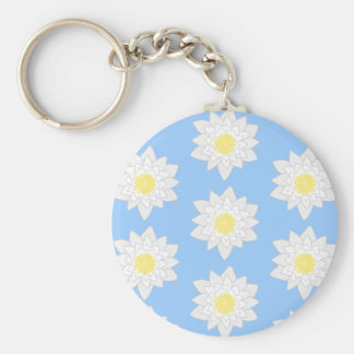 Water Lilies. Key Chains