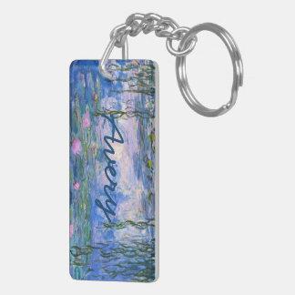 Water Lilies Keychain