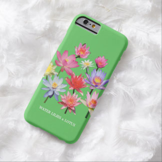 Water Lilies & Lotus Barely There iPhone 6 Case