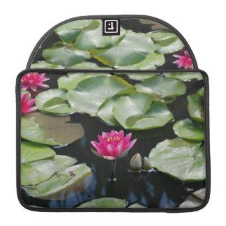 water lilies MacBook pro sleeves