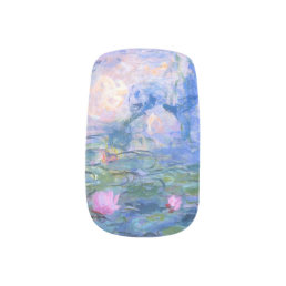 Water Lilies Minx Nail Wraps