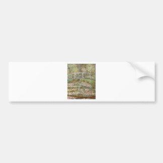 Water Lilies ~ Monet Bumper Stickers