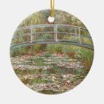 Water Lilies ~ Monet Ceramic Ornament