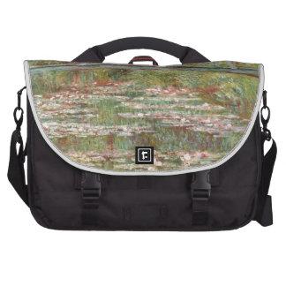 Water Lilies ~ Monet Laptop Messenger Bag