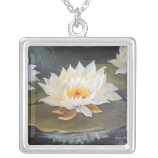 WATER LILIES NECKLACE