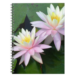 Water Lilies Notebook