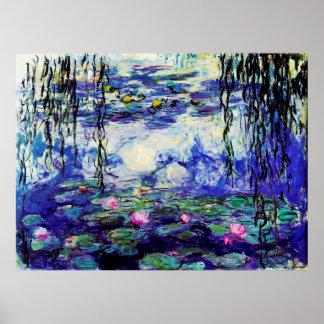 Water Lilies (Nymphéas) Poster