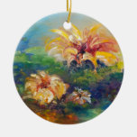 Water Lilies Ornament