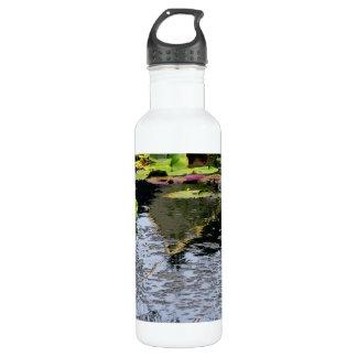 Water Lilies 24oz Water Bottle