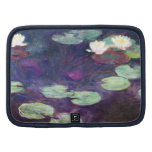 Water Lilies, Pink, 1897-99 Claude Monet cool, old Folio Planner