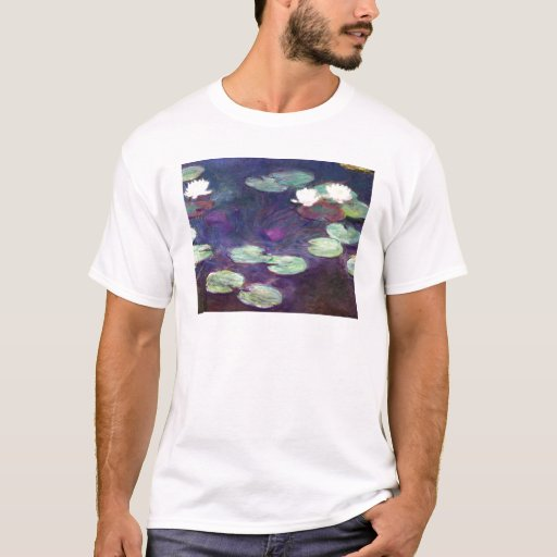 Water Lilies, Pink, 1897-99 Claude Monet cool, old T-Shirt