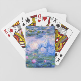 Water Lilies Playing Cards