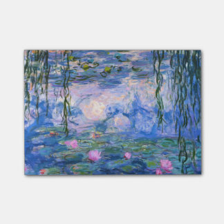 Water Lilies Post-it Notes