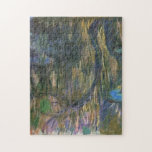 Water Lilies Reflections Weeping Willows Monet Jigsaw Puzzle