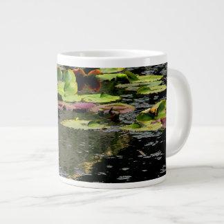 Water Lilies 20 Oz Large Ceramic Coffee Mug