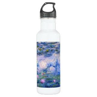 Water Lilies Stainless Steel Water Bottle