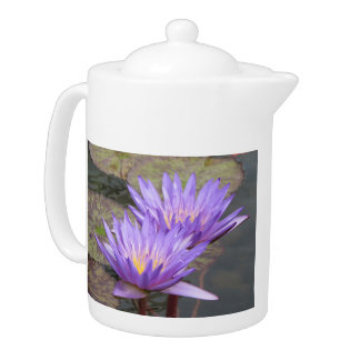 Water Lilies Teapot