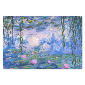 Water Lilies Tissue Paper