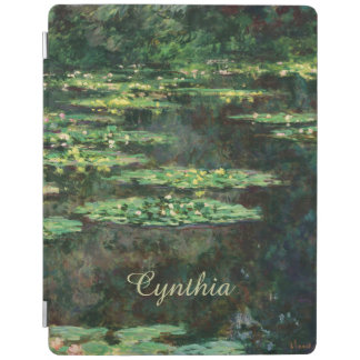 Water Lilies with Reflections, Claude Monet iPad Smart Cover