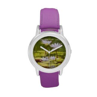 Water Lilies Wrist Watch