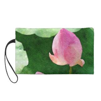 Water Lilies Wristlet Purse