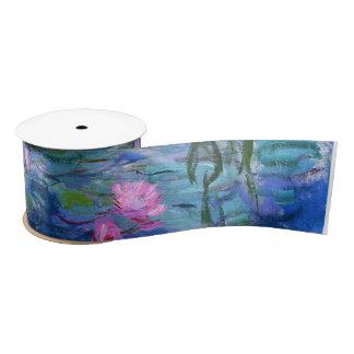 Water Lilies Satin Ribbon