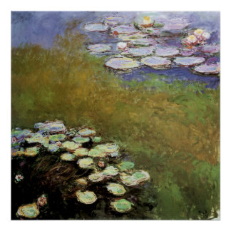 Water-Lillies, 1914-17 Poster