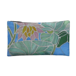 Water Lillies Makeup Bags