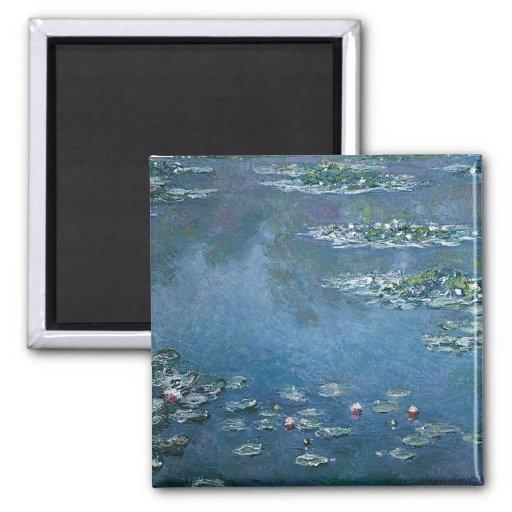 Water Lillies by Claude Monet Fridge Magnet