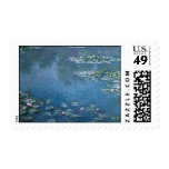 Water Lillies by Claude Monet Stamps