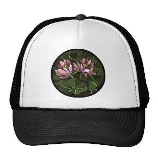 Water Lillies Mesh Hats