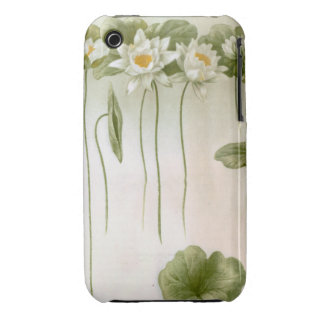 Water Lillies William Morris Style Case-Mate iPhone 3 Cases