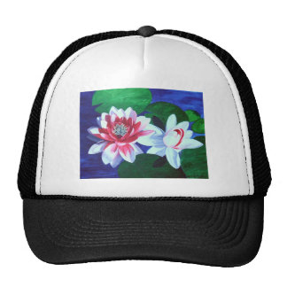 Water Lilly Dance Mesh Hat