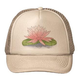 Water Lilly Trucker Hats