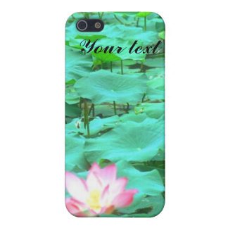 water lilly i-phone 4 case
