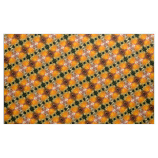 Water Lilly Kaleidoscope Fabric