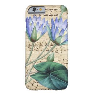 Water Lilly Music Barely There iPhone 6 Case