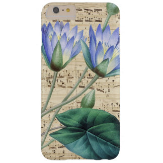 Water Lilly Music Barely There iPhone 6 Plus Case