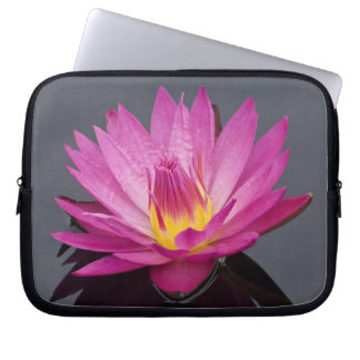 """Water Lily 10"""", 13""""-14"""" or 15""""-17"""" Laptop Sleeve"""