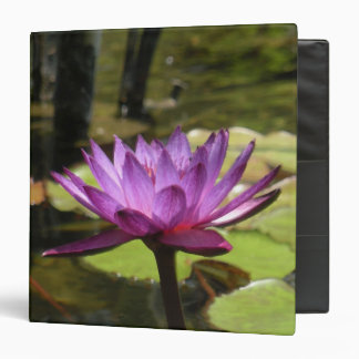 """Water Lily 1.5"""" Binder"""