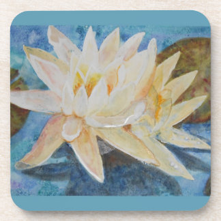 Water Lily 1 Beverage Coaster
