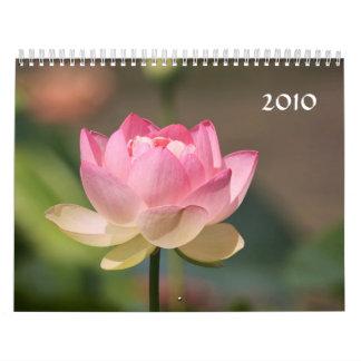water lily 2010 calendar