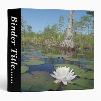 "Water Lily 2 - 1.5"" Binders"