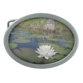 Water Lily 2 Belt Buckle
