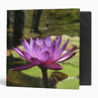 """Water Lily 2"""" Binder"""
