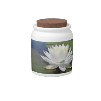 Water Lily 2 Candy Jars