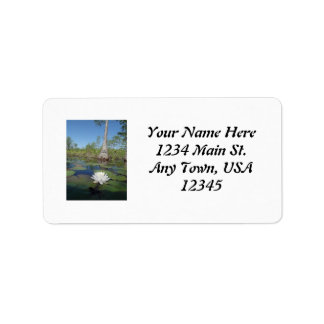 Water Lily 2 Custom Address Labels
