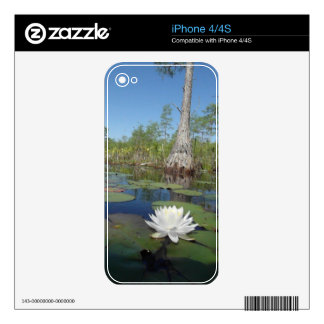 Water Lily 2 Skin For The iPhone 4